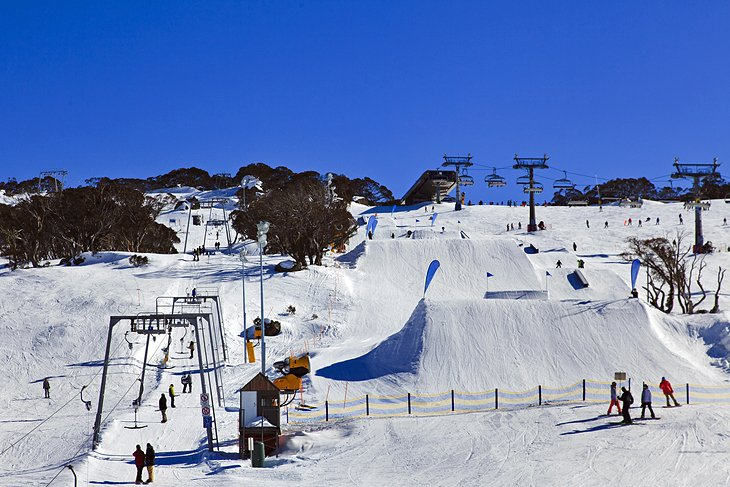 Hit the slopes in New South Wales & Victoria
