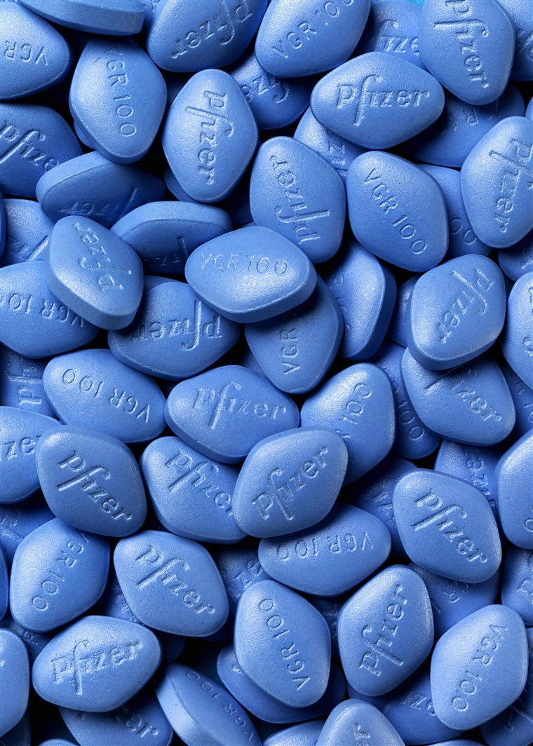 What exactly does Viagra pill do to a man?